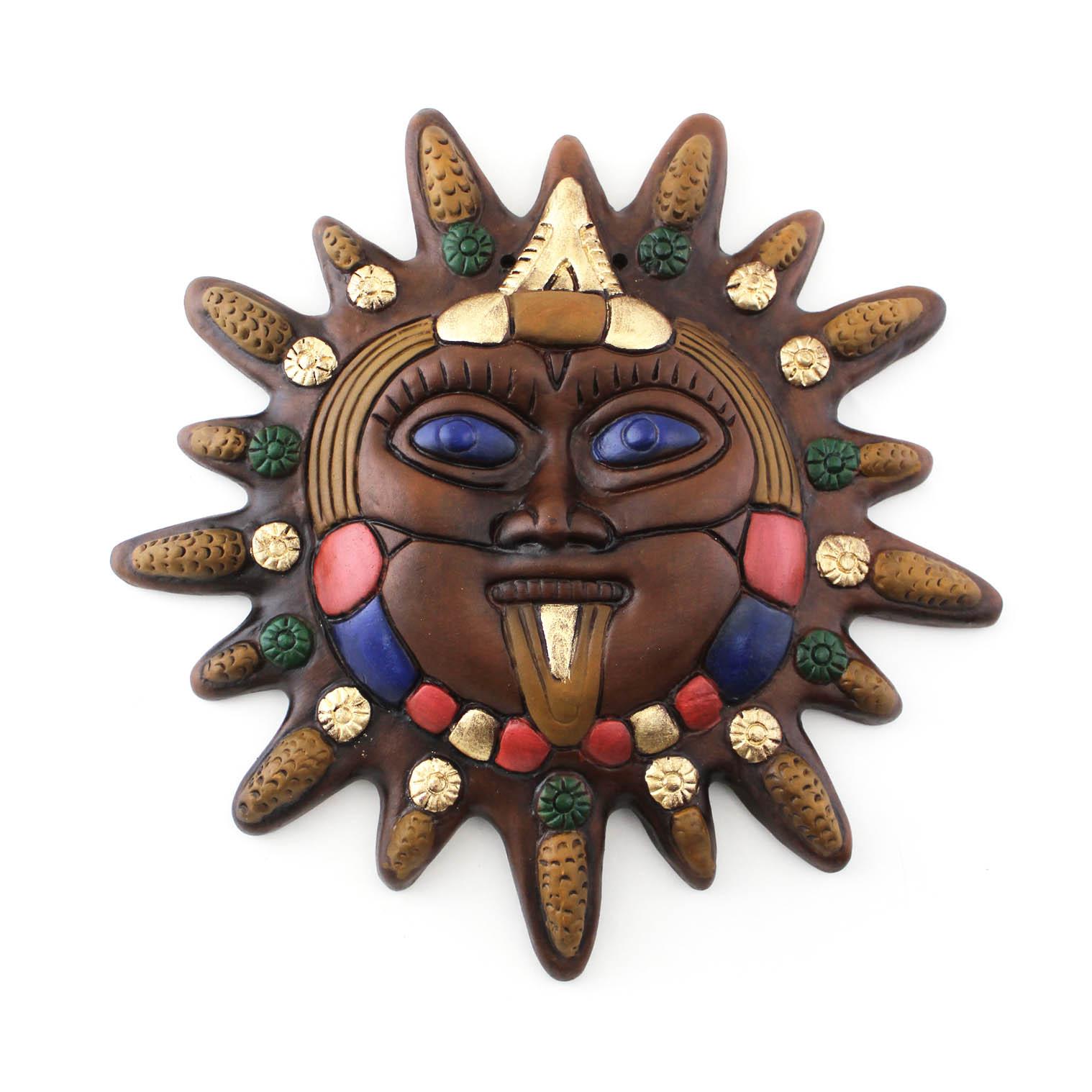 Mexican Sun Maize Plaque