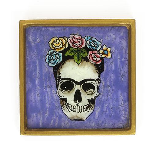 Crown of Roses Folk Art Frame