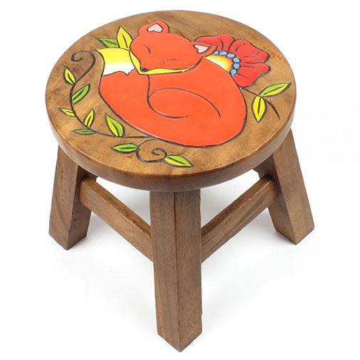 Sleeping Fox Stool