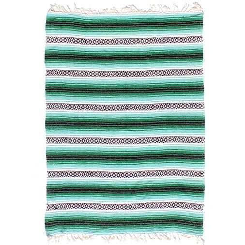 Mexican Falsa Rug Throw Blanket Mat Cobija Serape From Siesta