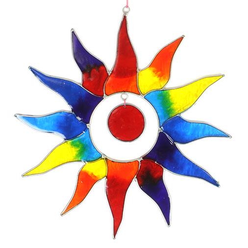 Rainbow Sun Suncatcher