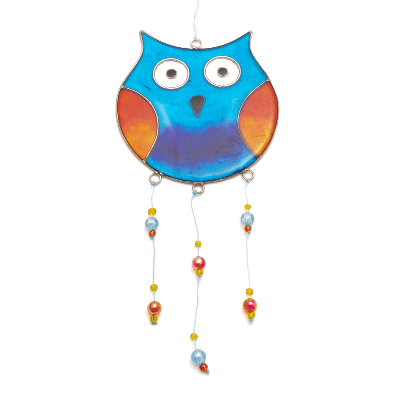 Round Owl Suncatcher