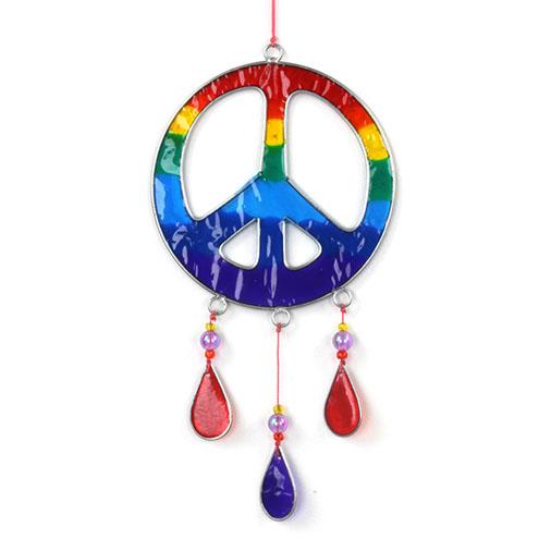 Peace Symbol Suncatcher