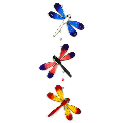 String of Dragonflies Suncatcher