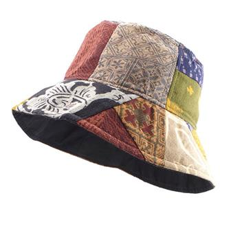 Thai Patch Bucket Hat