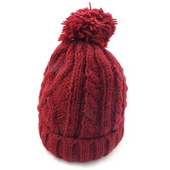 Cable Knit Bobble Special Hat