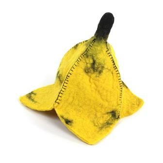 Banana Felt Flower Hat