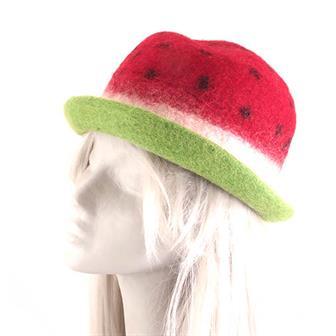 Watermelon Felt Hat
