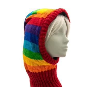Open Face Knitted Balaclava