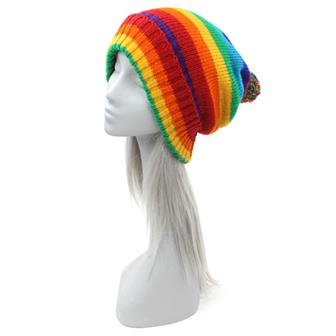 Rainbow Winter Hat