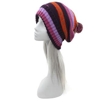 Warm Purple Winter Hat