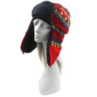 Festive Sherpa Trapper Hat