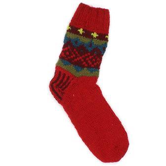 Festive Woollen Socks