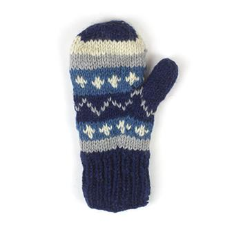 Mixed Knitted Mittens