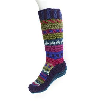Mixed Knitted High Socks