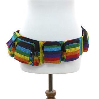 Rainbow Utility Boho Belt