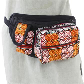 Thai Spirals Bum Bag