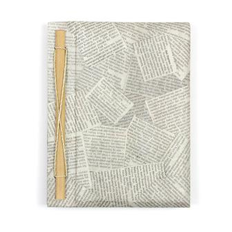 Large Newspaper Notebook