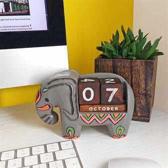 Elephant Perpetual Calendar