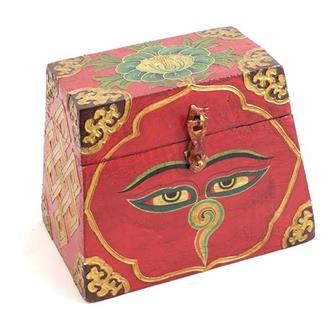 Buddha Eyes Tibetan Style Chest