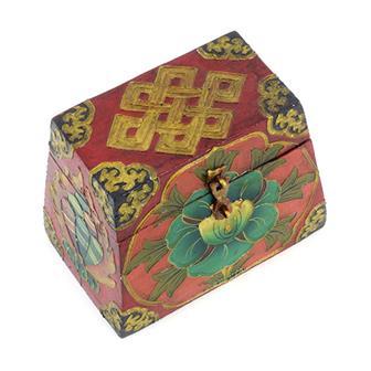 Lotus Tibetan Style Chest