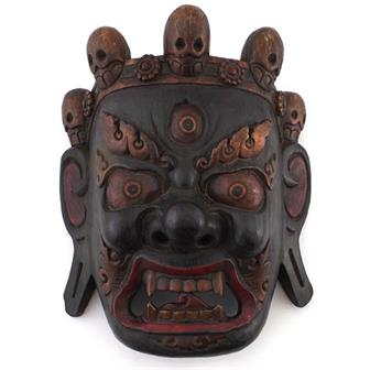 Artisan Dark Bhairab Mask No. 154