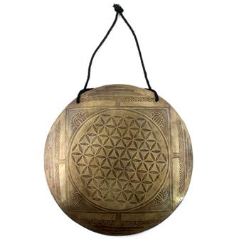 Etched Metal Wind Gong No.1