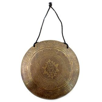 Etched Metal Wind Gong No.2