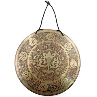 Etched Metal Wind Gong No.6