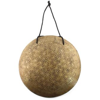 Etched Metal Wind Gong No.8