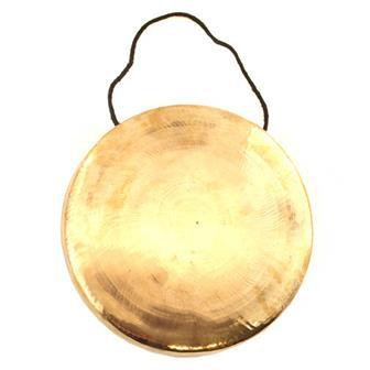 Tibetan Style Metal Gong No. 4