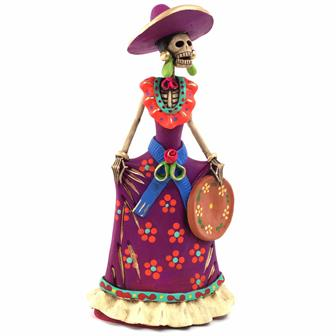 Medium Catrina Ceramic No.4