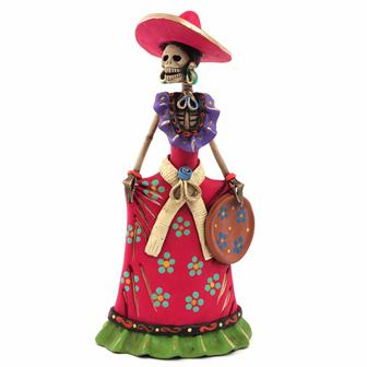 Medium Catrina Ceramic No.5