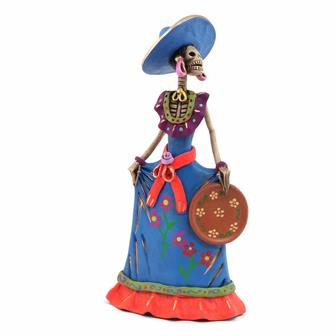 Medium Catrina Ceramic No.6