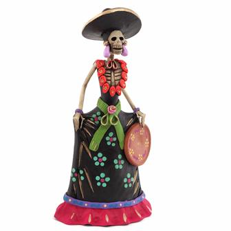 Medium Catrina Ceramic No.7