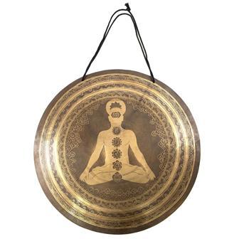 Yogi Chakra Extra Large Wind Gong No.20