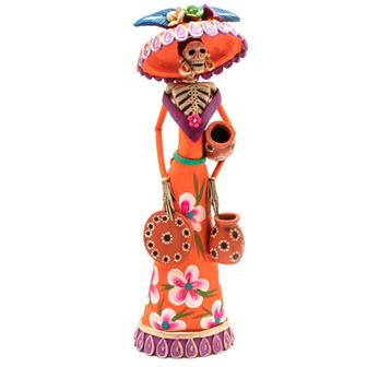 Large Catrina Ceramic No.20