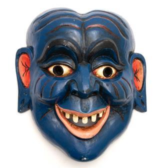 Artisan Grinning Man Mask No.259