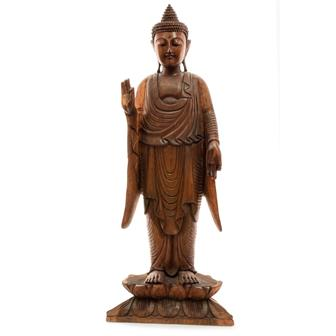 Standing Buddha Woodcarving 100cm No.43