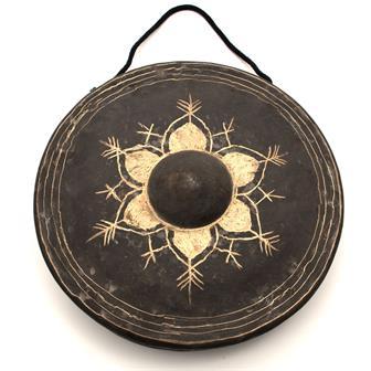 Burmese Style Black Gong No.30