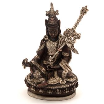 Copper Padmasambhava Statue