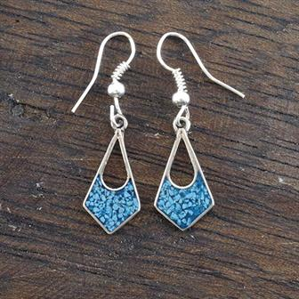 Antonia Blue Crush Earrings