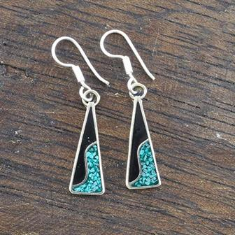 Bonita Blue Crush Earrings