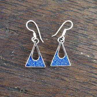Carmen Blue Crush Earrings