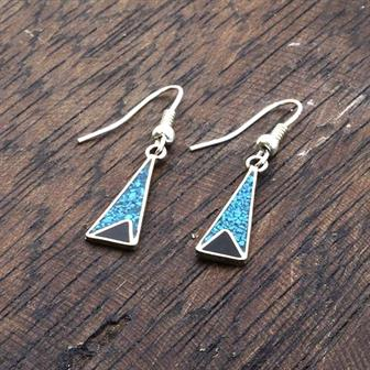 Dorita Blue Crush Earrings