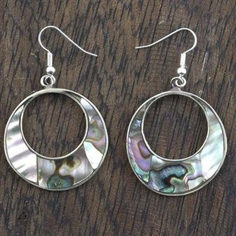 Beatriz Abalone Shell Earrings