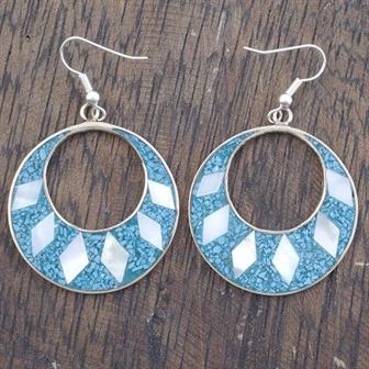 Gabriela Blue Crush Earrings