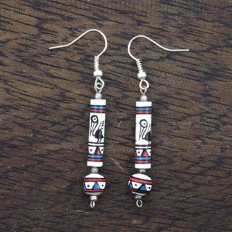 Bienvenida Peruvian Beaded Earrings