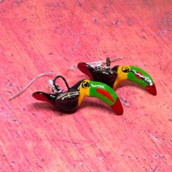 Toucan Encantos Earrings