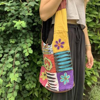 Patch Hippy Bag
